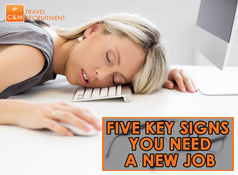 Five signs you need to find a new job