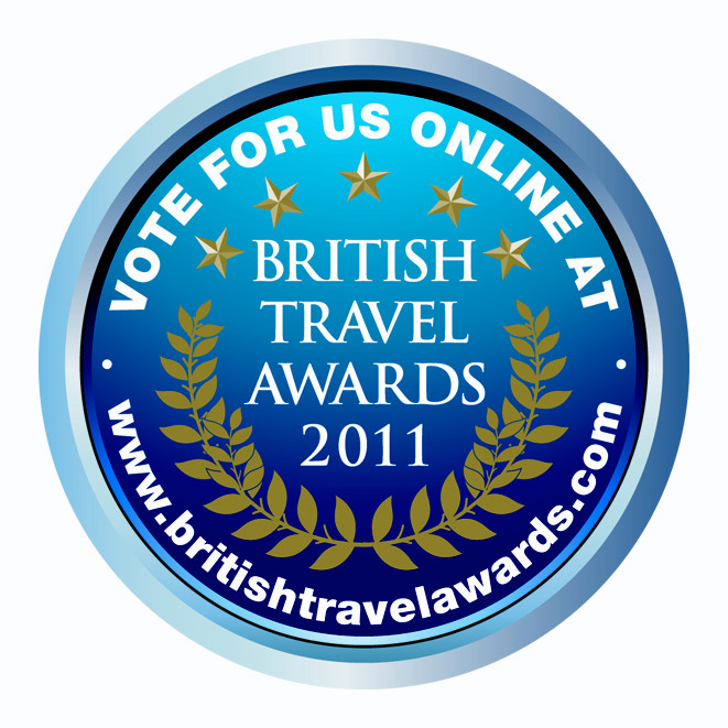Vote for C&M at the British Travel Awards 2011